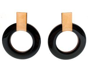 Black-Beige-Large-Hoops-1