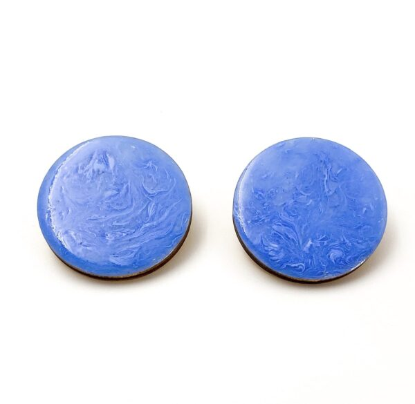 Blue-Large-Circle-Earrings-1