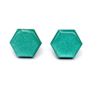 Petrol-Medium-Sixtangle-Earrings-1