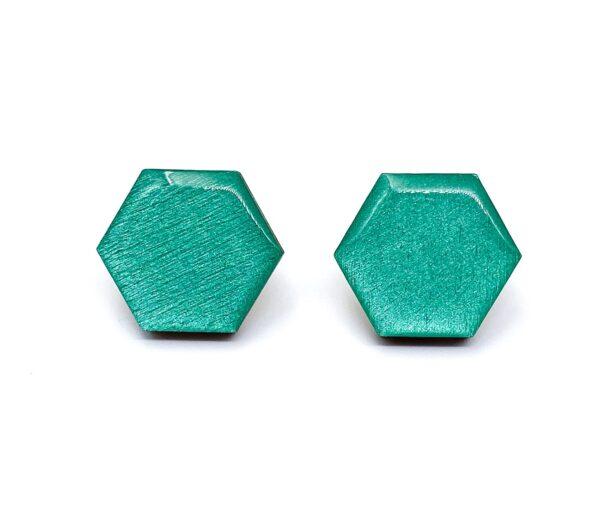 Petrol-Medium-Sixtangle-Earrings-1