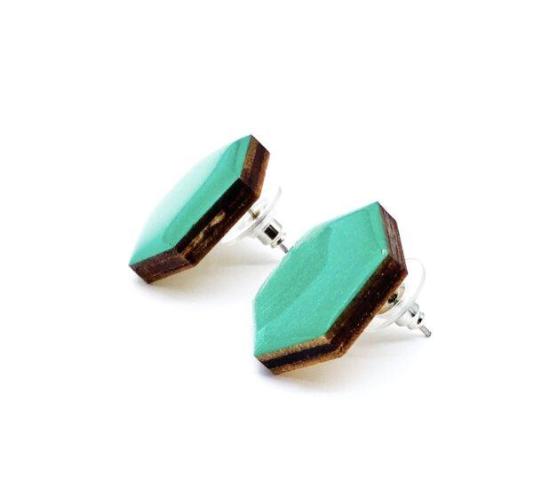 Petrol-Medium-Sixtangle-Earrings-2