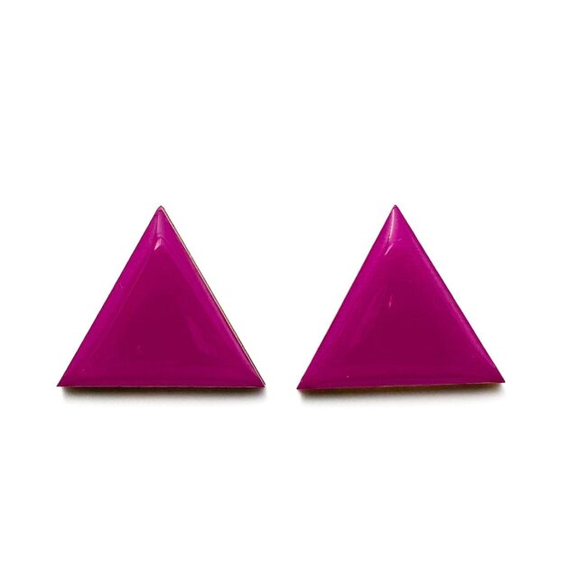 Purple-Medium-Triangle-Earrings-1