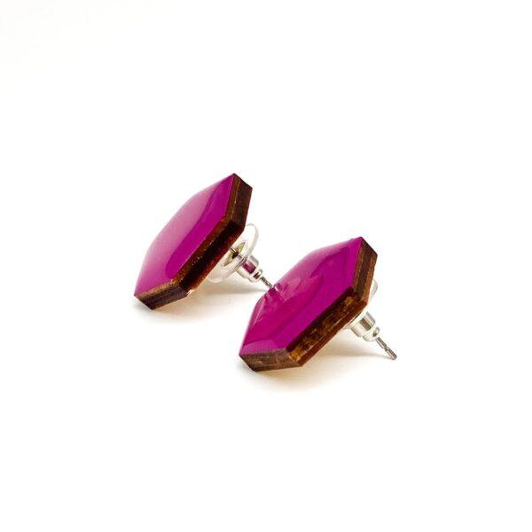 Purple-Small-Sixtangle-Earrings-2