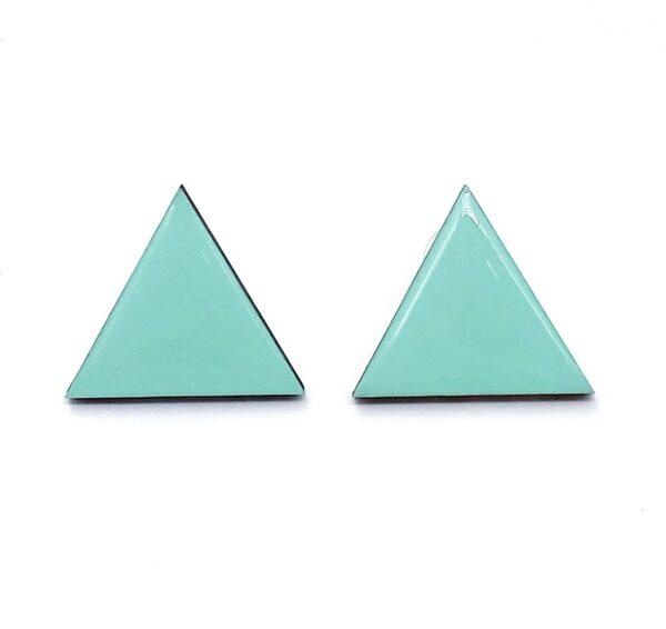 Turquoise-Medium-Triangle-Earrnings-1