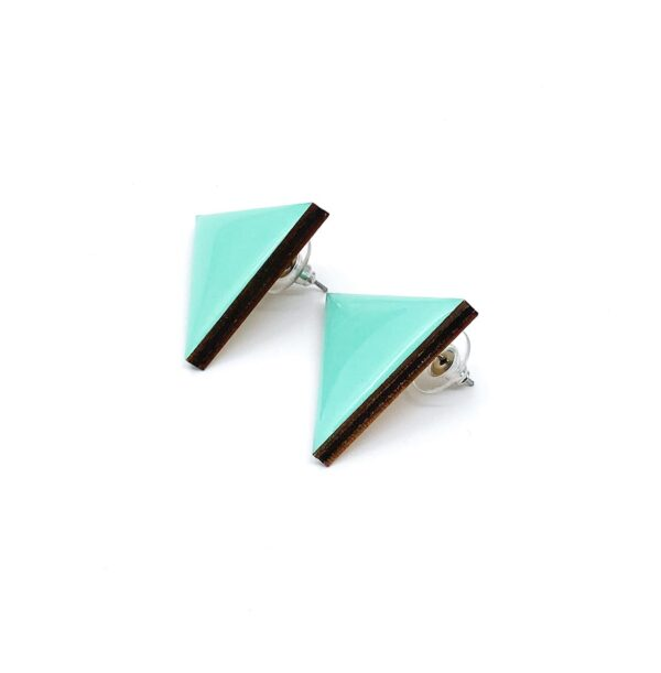 Turquoise-Medium-Triangle-Earrnings-2