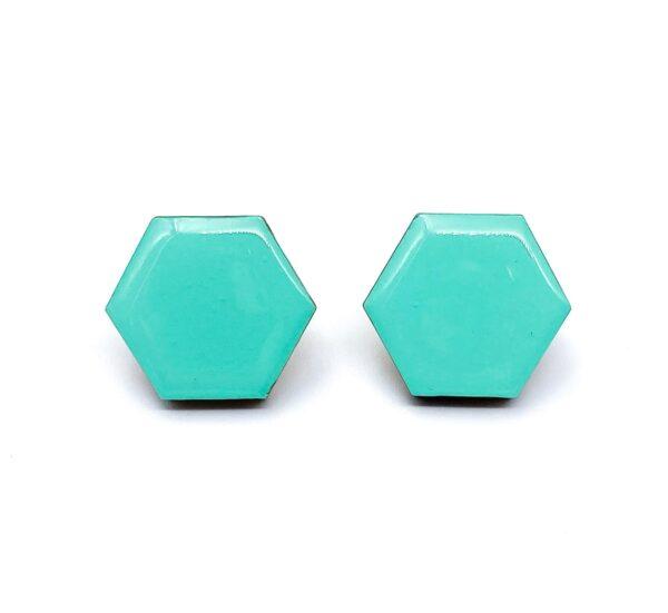 Turquoise-Small-Sixtangle-Earrings-1