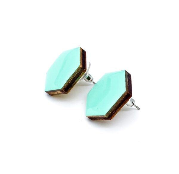 Turquoise-Small-Sixtangle-Earrings-2