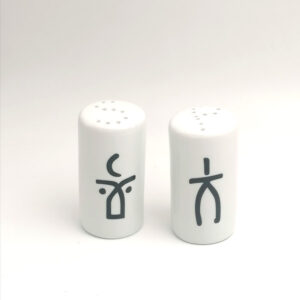 Man & Woman - salt & pepper