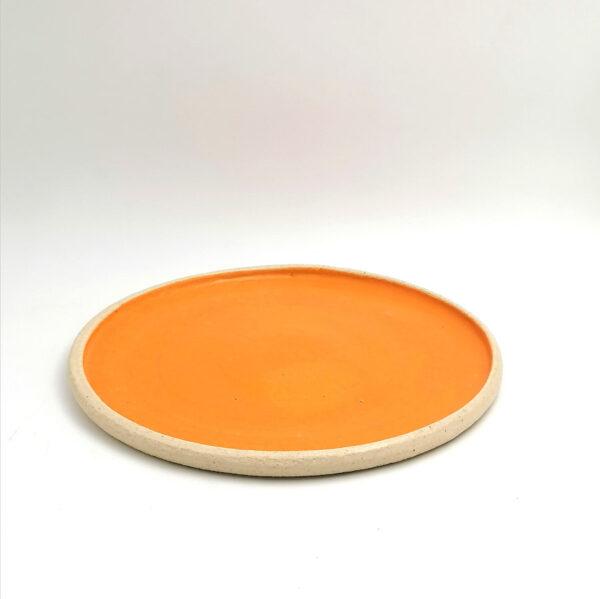 Handamade ceramic plate