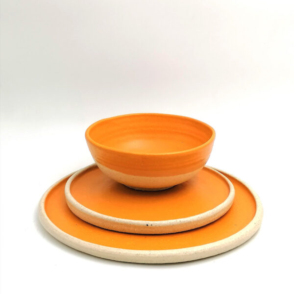 handmade ceramics plate