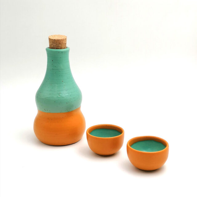 raki for two ceramic set