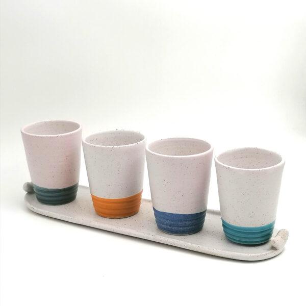 esprresso set ceramics handmade